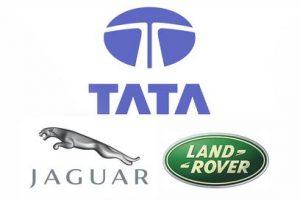 Jaguar Land Rover Tata logo
