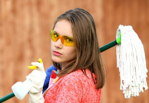 Cleaning to help sell your house