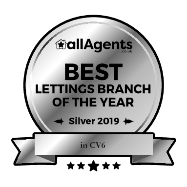 Best Lettings Branch of the Year in Coventry.
